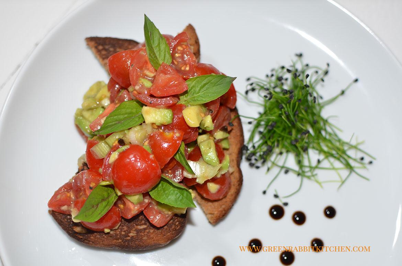 My Tomato Bruschetta