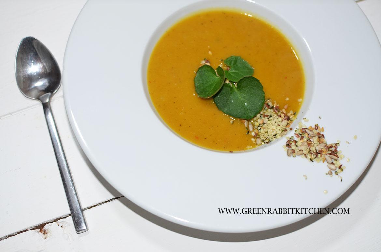 Mixed Mini Squash (pumpkin) Soup