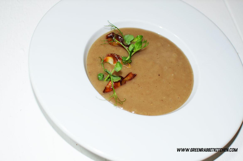 Vegan Jerusalem Artichokes Soup