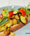 Vegan Roasted Vegetable Sourdough Bruschetta 05