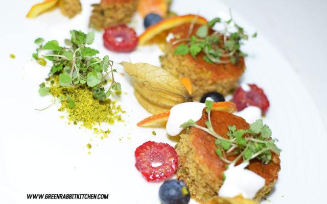 Vegan Orange Olive Oil and Pistachio Cake 7