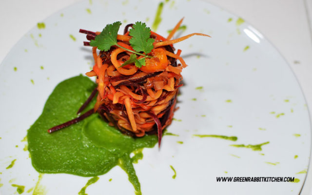 Raw Heritage Carrots Spaghetti 01