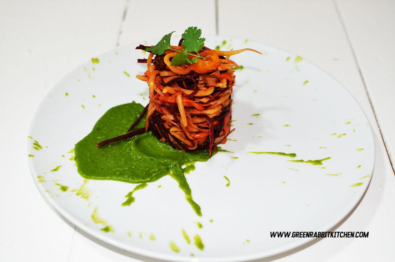 Raw Heritage Carrots Spaghetti 09