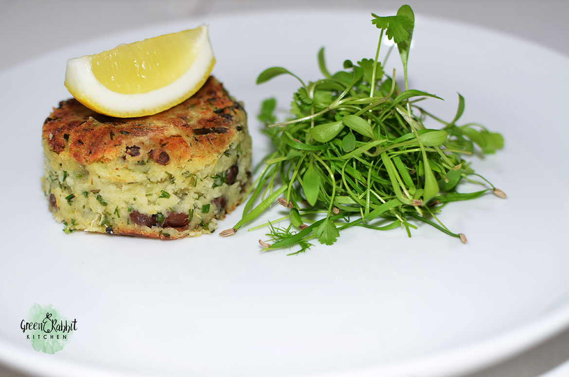 Vegan Chick Pea and Artichoke Cake 9
