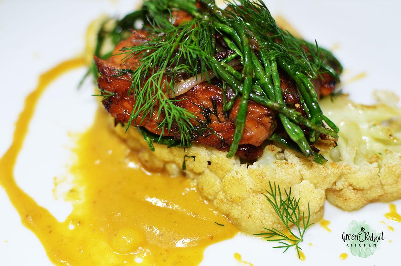 Vegan Cauliflower Steak 4