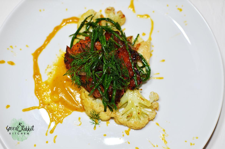 Vegan Cauliflower Steak 5