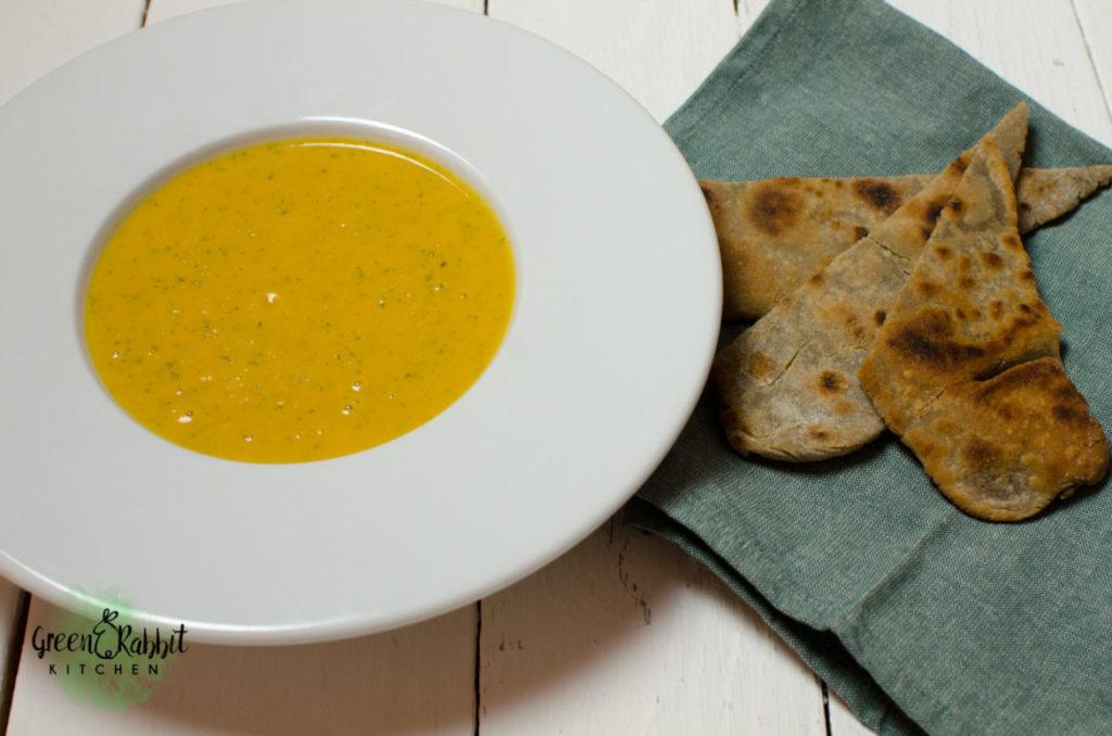 Vegan Sweet Potato Coconut Milk Soup
