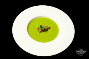 Vegan Pea Mint Soup